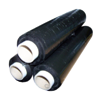 Black Pallet Stretch Shrink Wrap 500mm x 200m WIDE ROLLS